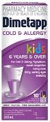 Dimetapp Kids Cold & Allergy 6 Years & Over 100ml