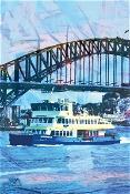 KE Design Tea Towel Sydney Ferry