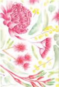 KE Design Tea Towel Australian Flora 1