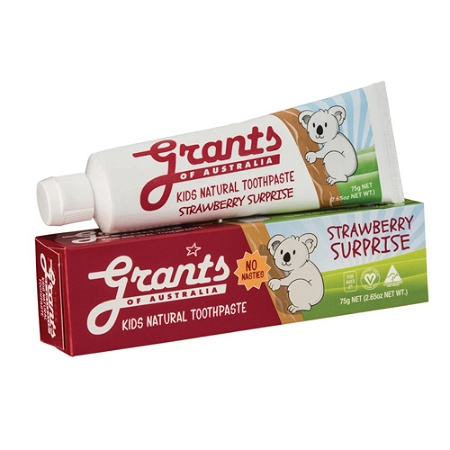 Grants Toothpaste Kids Strawberry Surprise 75g
