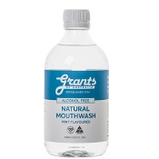 Grants Natural Mouthwash Mint Flavoured 500ml