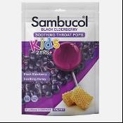 Sambucol Kids Throat Pops 8 pack