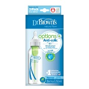 Dr Brown's Options Narrow Neck Baby Bottle 2 x 250ml