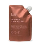 Noosa Basics Shimmer Body Polish with Pink Clay + Hibiscus Powder 150g