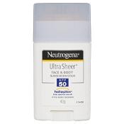 Neutrogena Ultra Sheer Face & Body Sunstick SPF50+ 42g
