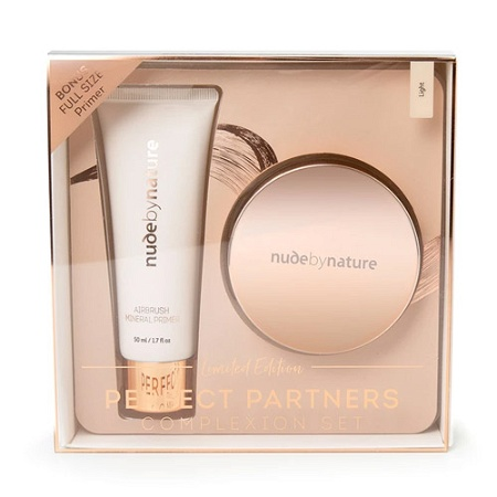 Nude by Nature Perfect Partners Complexion Set Light