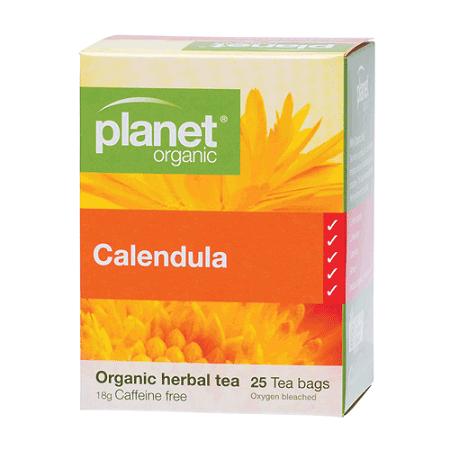 Planet Organic Calendula Herbal Tea 25 Tea Bags