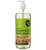Simply Clean Australian Peppermint Body Wash 1 Litre