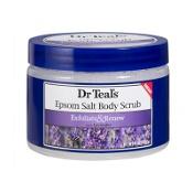 Dr Teals Epsom Salt Body Scrub Lavender 454g