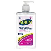 Aqium Ultra Antibacterial Hand Sanitiser 375ml