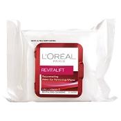 L'Oreal Revitalift Make-Up Removing Wipes 25 Pack