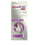 Bravecto Plus for Cats Purple 6.25kg-12.5kg