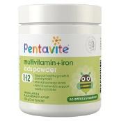 Pentavite Kids Multivitamin + Iron Powder 100g