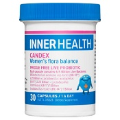 Inner Health Candex Fridge Free 30 Capsules