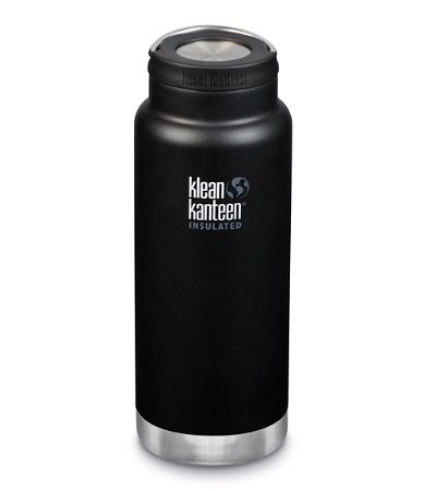 Klean Kanteen TKWide Insulated 946ml Wide Loop Cap Bottle Shale Black