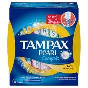 Tampax Pearl Compak Tampons Regular 18 Pack