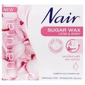 Nair Natural Origin Rose Sugar Wax 350ml
