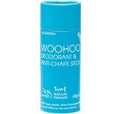 Woohoo Body Deodorant & Anti-Chafe Stick Surf 60g