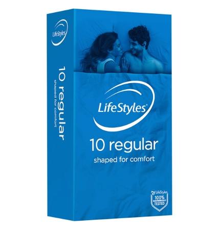 Lifestyles Regular 10 Condoms