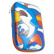 Moki Carry Me! Shark Pencil Case