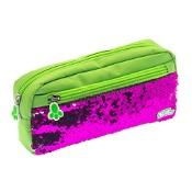 Moki Pat Me! 2 Way Sequin Green Pencil Case