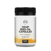 Essential Hemp Hemp Seed Oil with Turmeric 100 Capsules