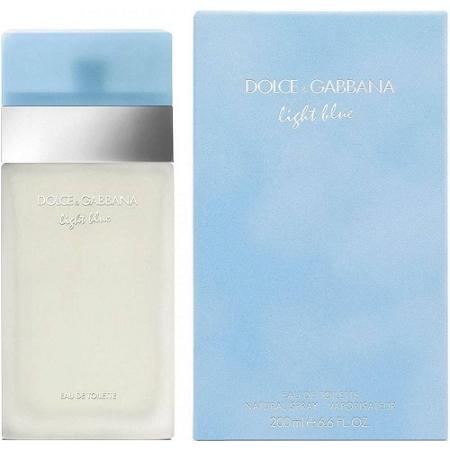 Dolce & Gabbana Light Blue for Her Eau de Toilette Spray 200ml
