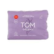 Tom Organic Cotton Overnight Pads 8 Pads