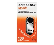 Accu-Chek Mobile Test Cassette 100 Tests in 2 Cassettes