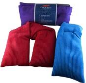 Surgical Basics Corduroy Silicone Heat Bag 63cm x 12cm (Colours selected at random)