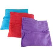 Surgical Basics Corduroy Silicone Heat Bag 18cm x 18cm (Colours selected at random)