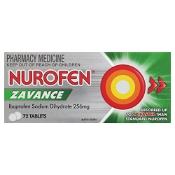Nurofen Zavance Fast Pain Relief 72 Tablets