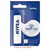 Nivea Repair & Protect Moisturising Lip Balm With SPF 15 4.8g