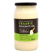 Honest to Goodness Organic Coconut Oil Purified & Deodorised 1 Litre
