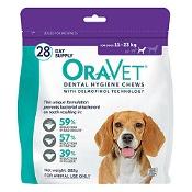 Oravet Dental Chews Medium 28 Chews