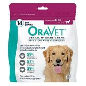 Oravet Dental Chews Large 14 Chews