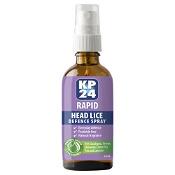 KP24 Rapid Head Lice Defence Spray 50ml