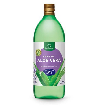 Lifestream Biogenic Aloe Vera Juice 1.25 Litre
