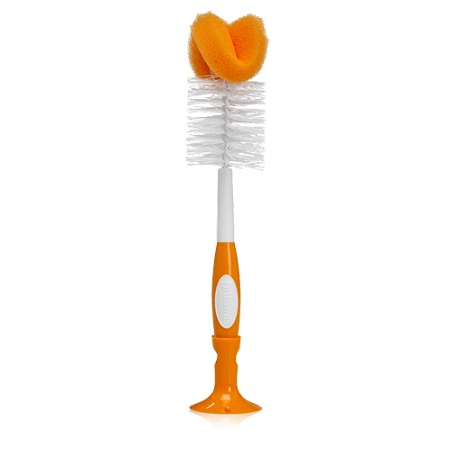 Dr Brown's Baby Bottle Cleaning Brush Large (Colours selected at random)