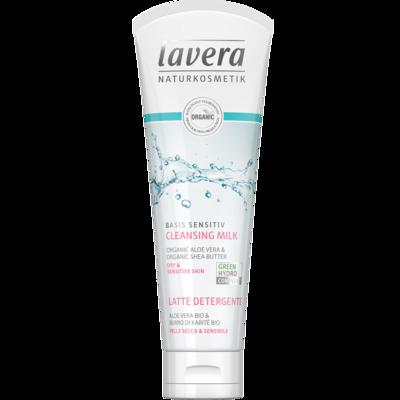 Lavera Basis Sensitiv Cleansing Milk 2in1 125ml