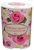 Spring Rose Talcum Powder 50g