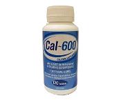 Cal-600 Calcium 120 Tablets