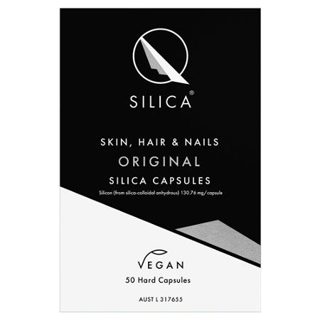 Qsilica Skin Hair & Nails Original 50 Vegan Capsules