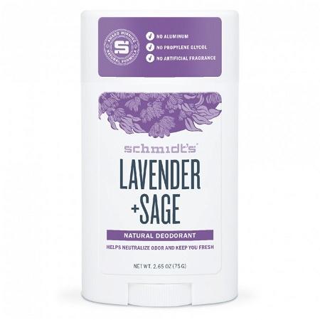 Schmidts Deodorant Stick Lavender & Sage 75g
