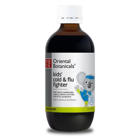 Oriental Botanicals Kids Cold & Flu Fighter 100ml