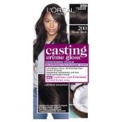 L'Oreal Casting Creme Gloss 200 Ebony Black Hair Colour