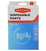 Surgical Basics Disposable Pants Small Box of 5