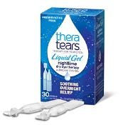 Thera Tears Liquid Gel Night Time Dry Eye Therapy 30 x 0.6ml Single Use Vials