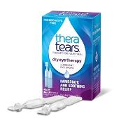 Thera Tears Lubricant Eye Drops 25 x 0.6ml Single Use Vials