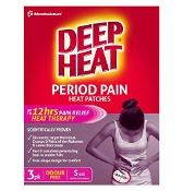 Deep Heat Period Pain Heat Patches Small 3 Pack